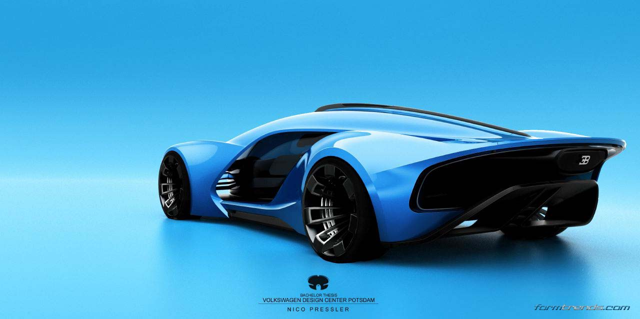 Bugatti Type A Concept