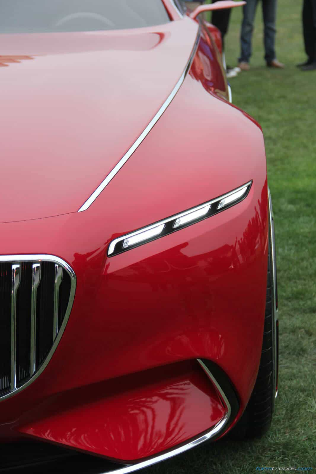 Coupe Series black and pink bmw Vision Mercedes-Maybach 6 Car Explained by Design VP