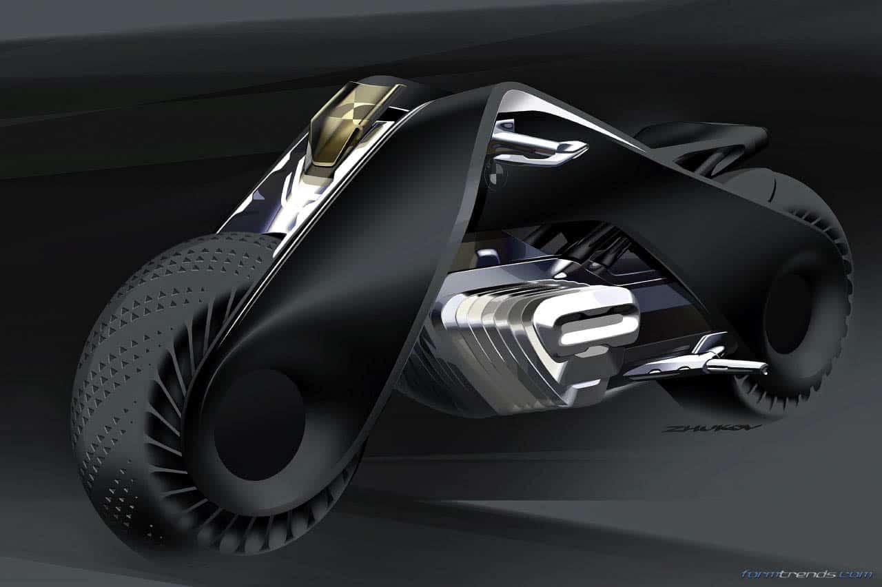 bmw motorrad design director on the vision next 100 concept. Black Bedroom Furniture Sets. Home Design Ideas