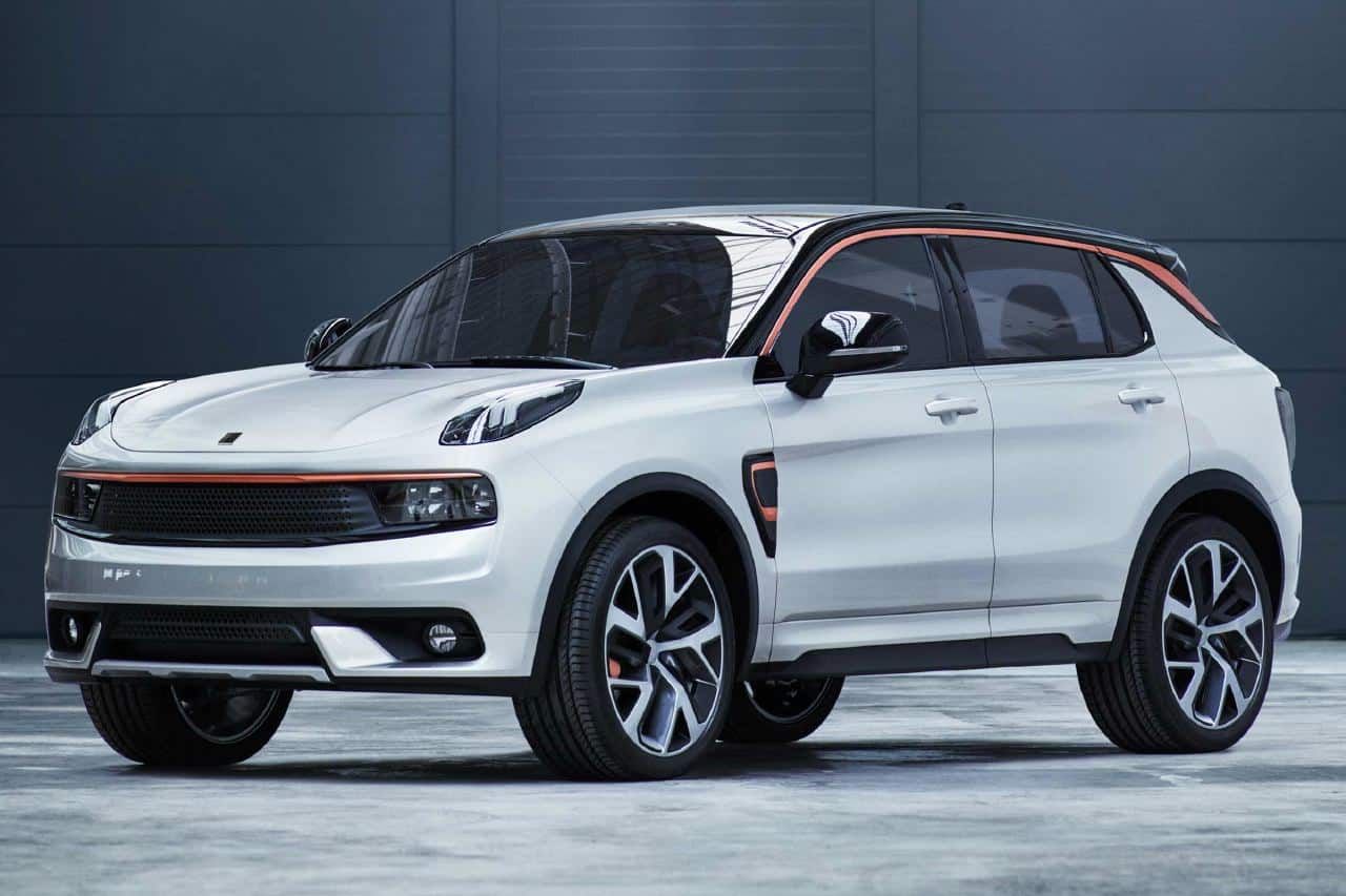 Lynk Co Suv Mixes One Part Porsche With Two Parts Tesla