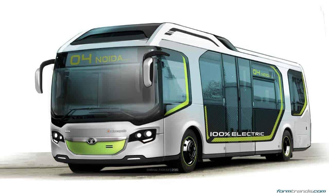 Tata Ultra Electric Bus Concept Looks to Future of Public