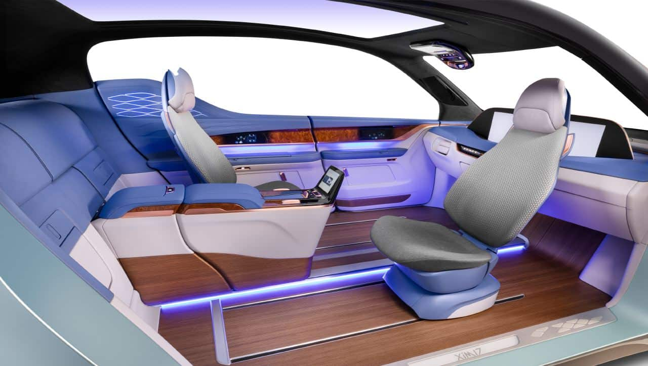 yanfeng automotive interiors xim17 autonomous vehicle concept. Black Bedroom Furniture Sets. Home Design Ideas