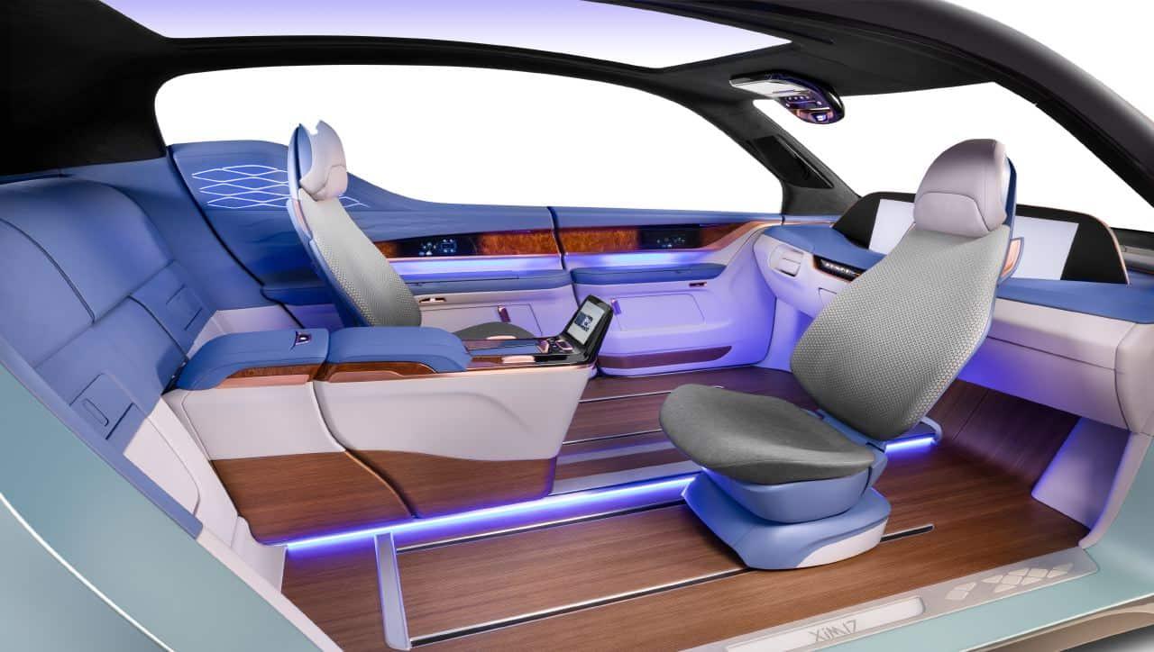 yanfeng automotive interiors xim17 autonomous vehicle concept
