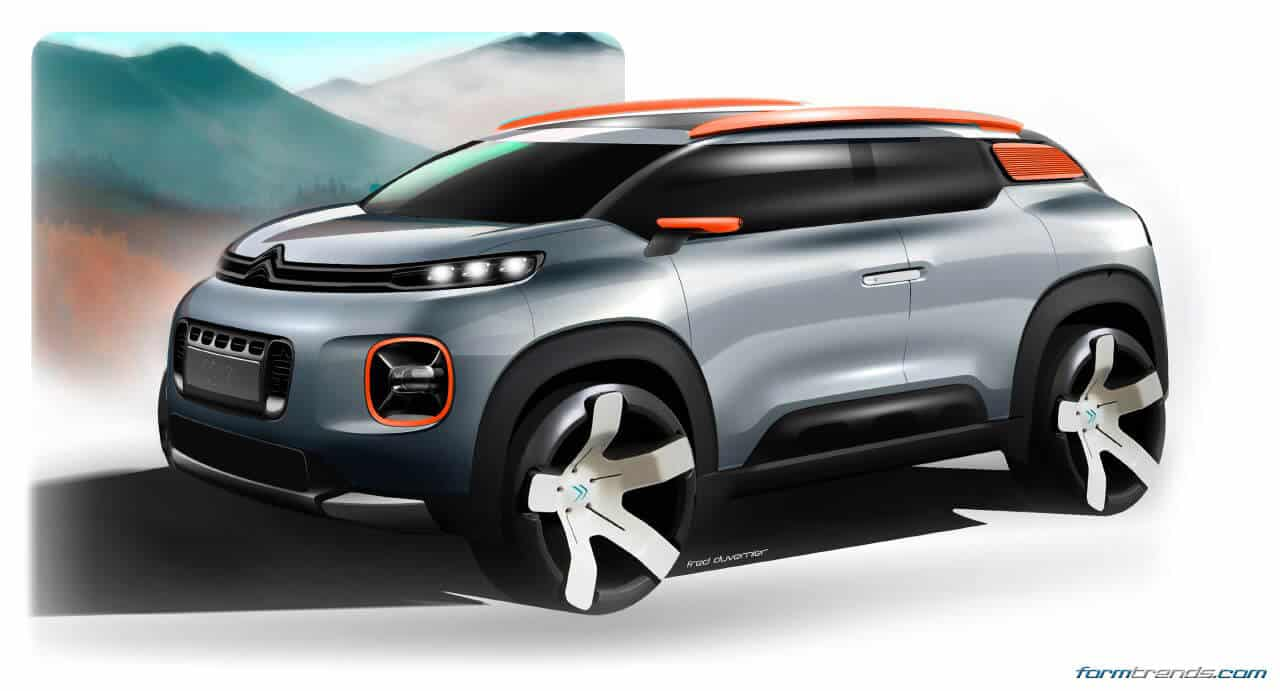 citroen reveals geneva bound c aircross concept. Black Bedroom Furniture Sets. Home Design Ideas