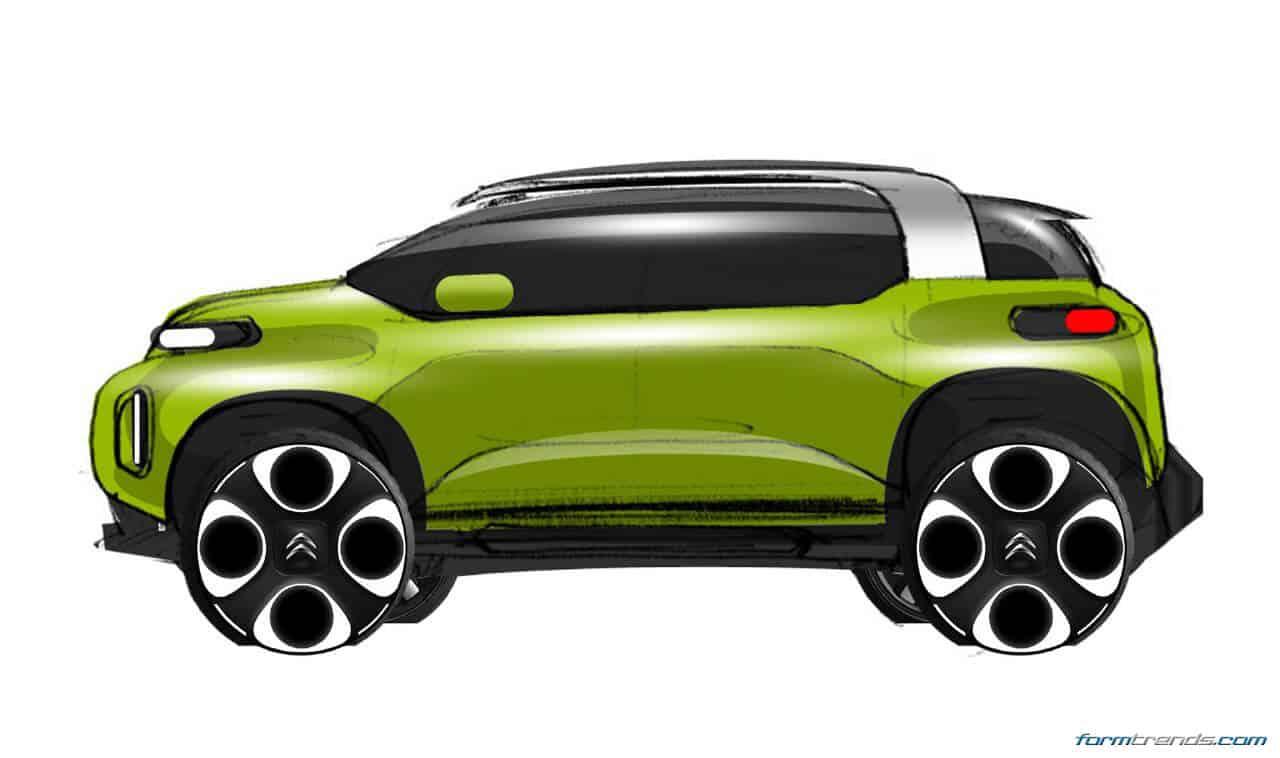 citroen reveals geneva bound c aircross concept. Black Bedroom Furniture Sets. Home Design Ideas