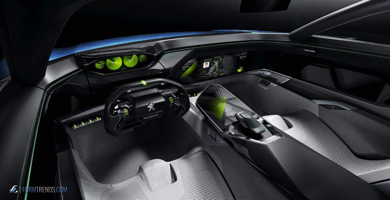Peugeot Instinct Concept An Autonomous Car For Driving