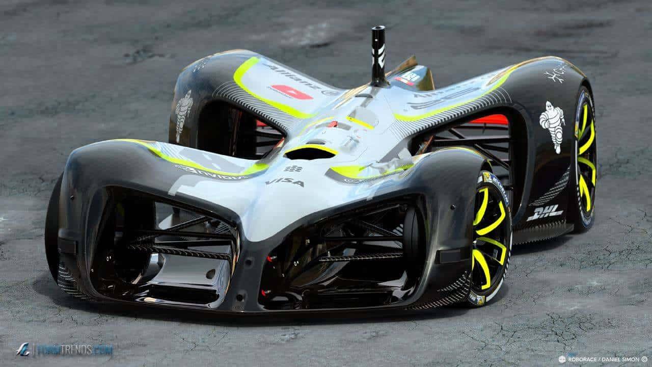 Battery Car Track Racing