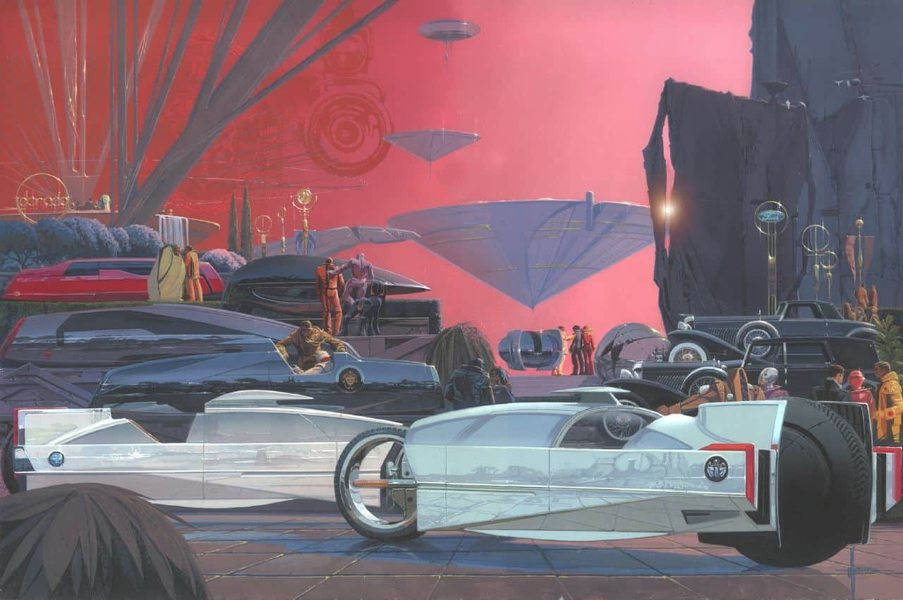 Syd Mead Creates New Poster To Commemorate Eyeson Design