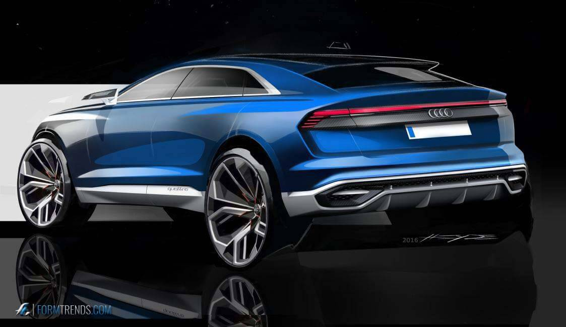 Design Story A Look Into The Creation Of The Audi Q8 Concept