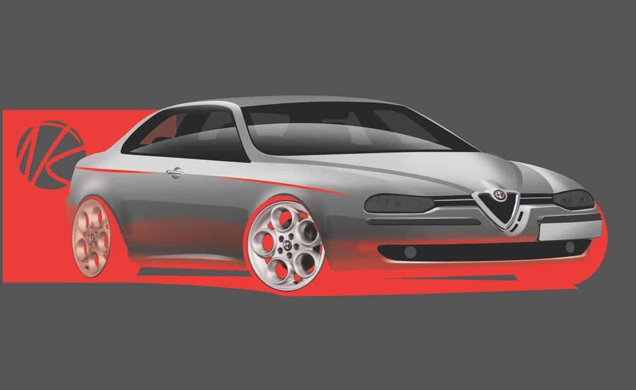 Revisiting The Iconic Alfa Romeo 156 Design