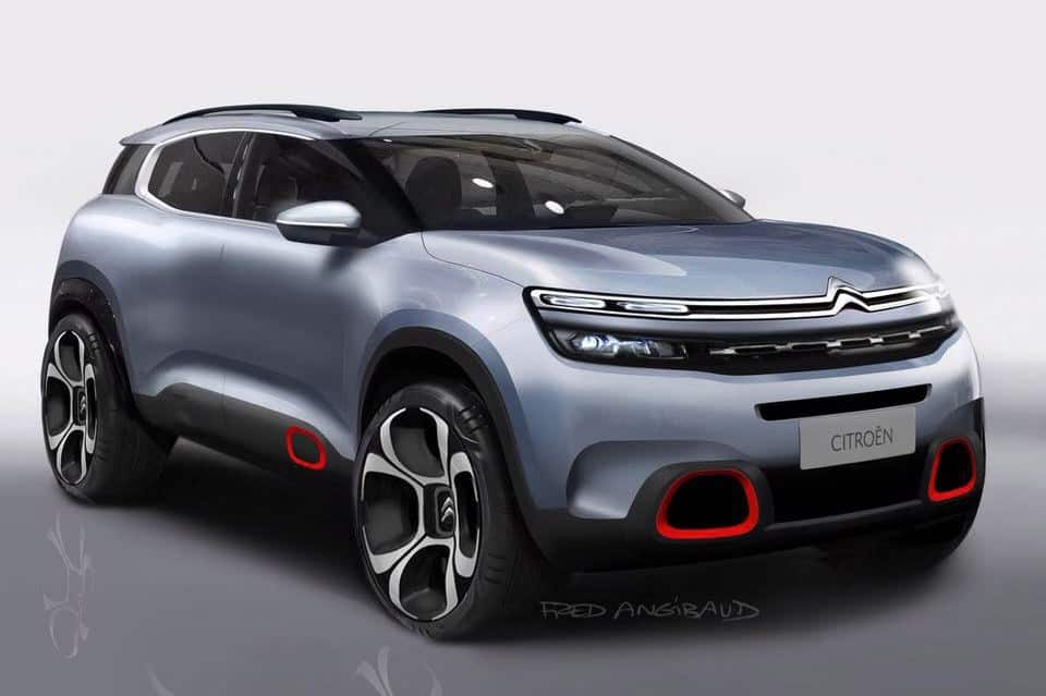 Design A Car >> Citroën Design Director Alexandre Malval on the New C5 Aircross