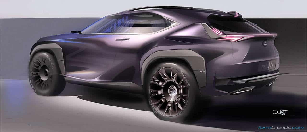 Walkaround The Lexus UX Concept With Toyotas ED2 Designers