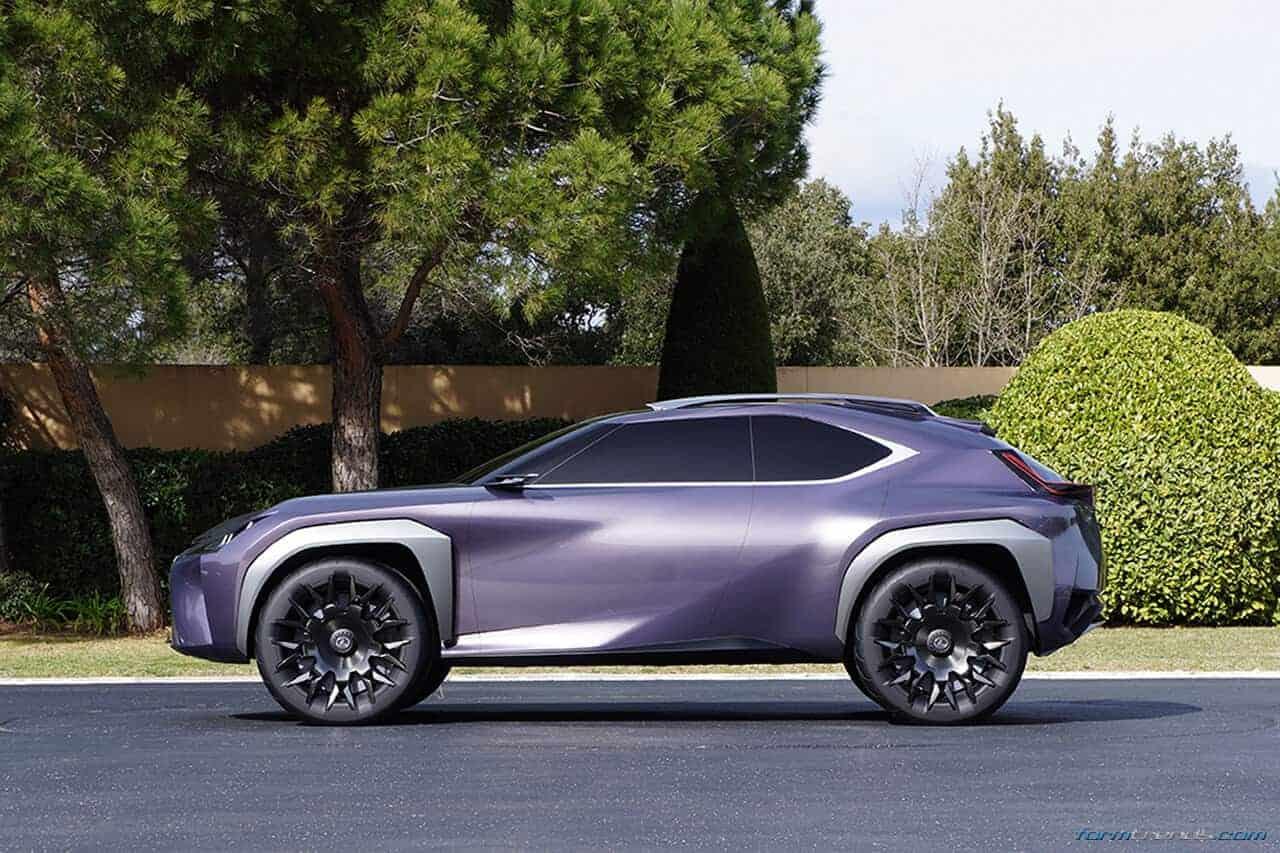 Walkaround the Lexus UX Concept with Toyota's ED2 Designers