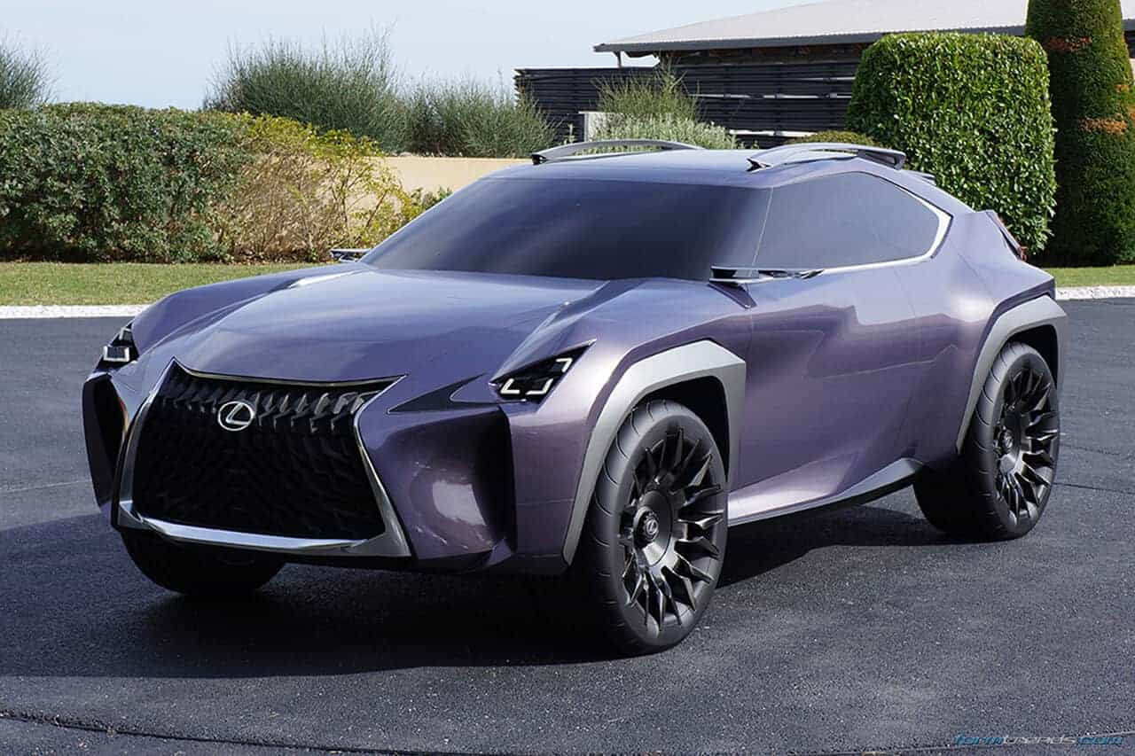 Walkaround The Lexus UX Concept With Toyota's ED2 Designers