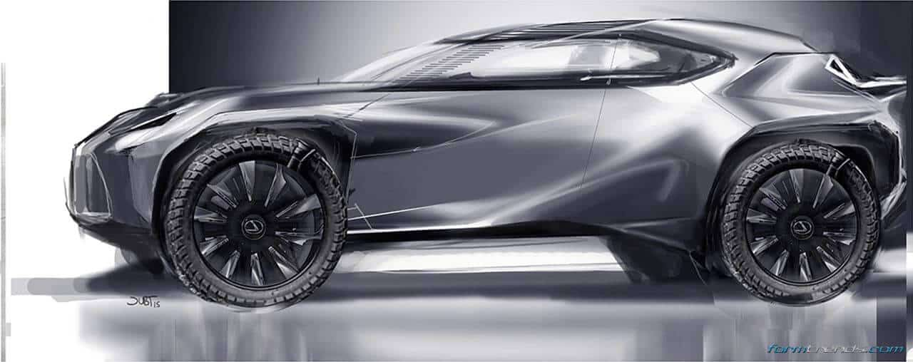 Walkaround The Lexus Ux Concept With Toyota S Ed2 Designers