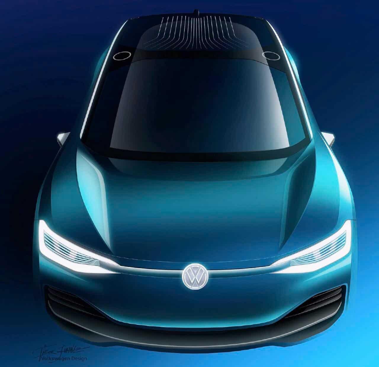 Volkswagen ID Crozz Concept Previews Third Member Of