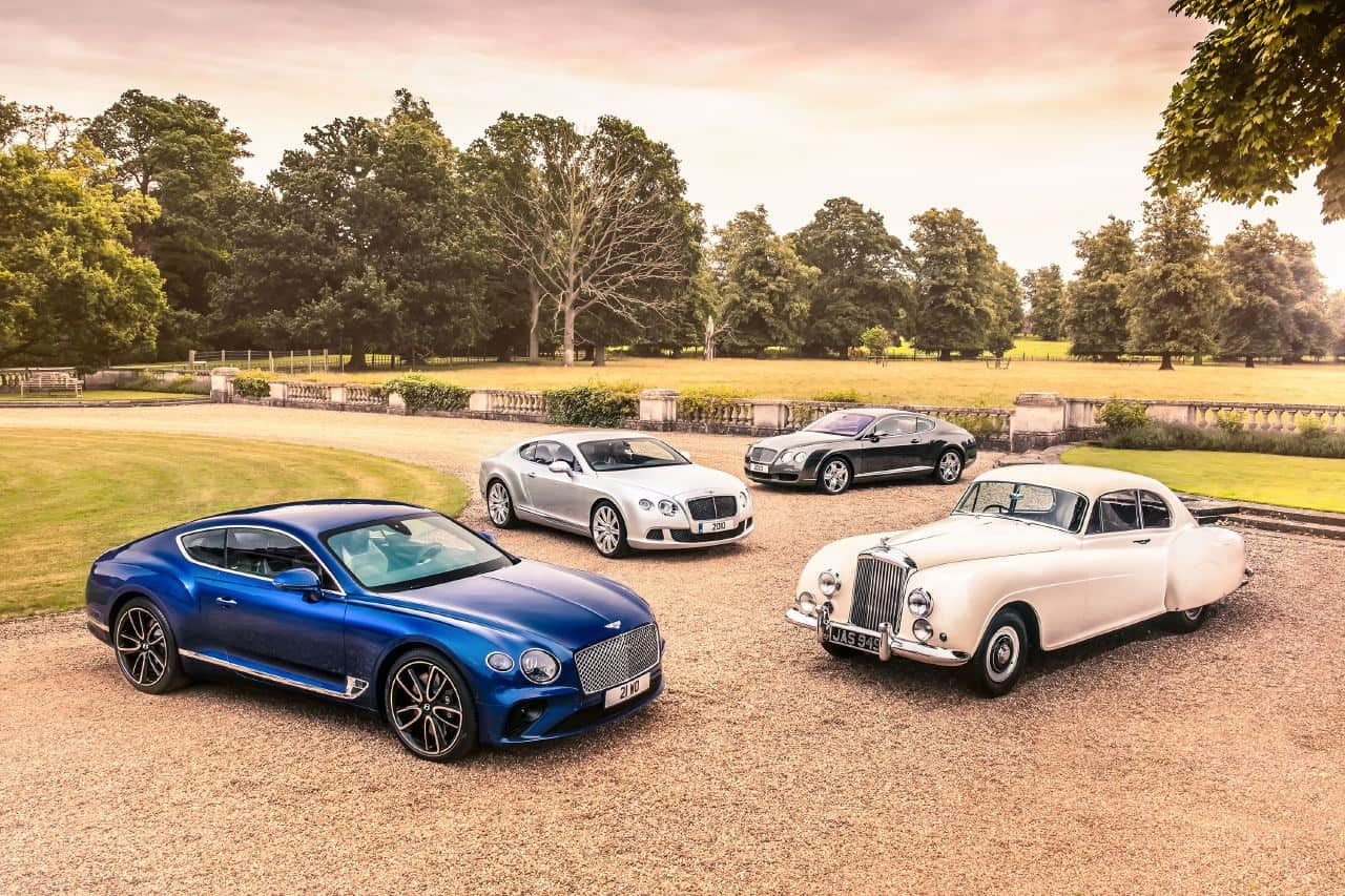 Bentley Continental GT Family And 1952 Continental Type R
