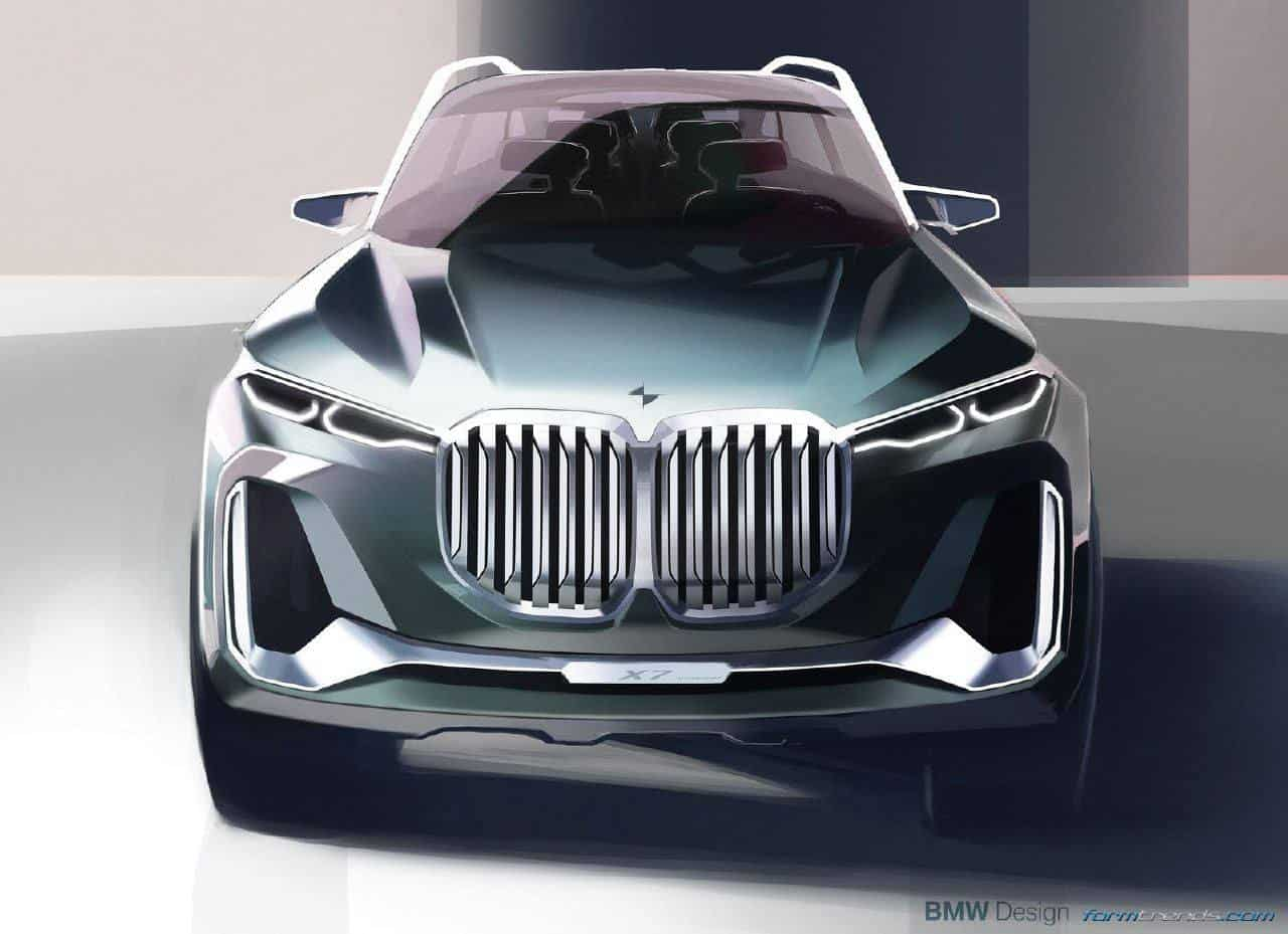 Bmw X7 Iperformance Concept Proposes New Height In Luxury