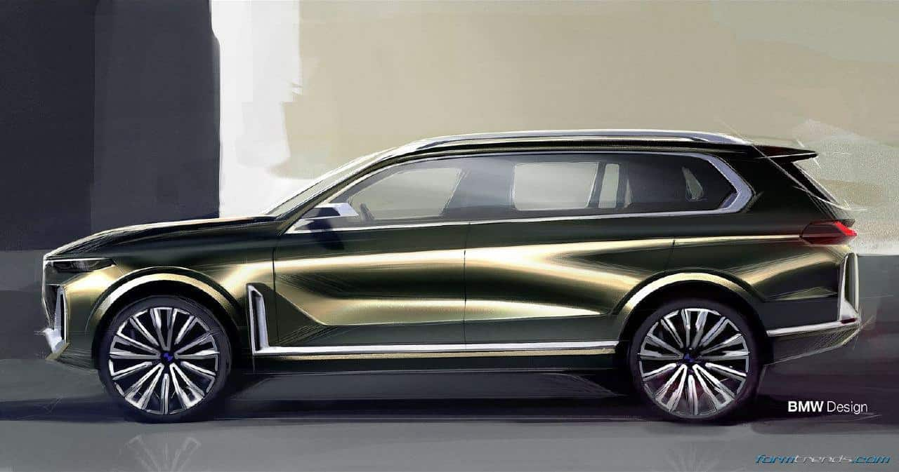bmw x7 iperformance concept proposes 39 new height 39 in luxury. Black Bedroom Furniture Sets. Home Design Ideas